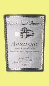 Sant`Antonio Amarone DOC 2015