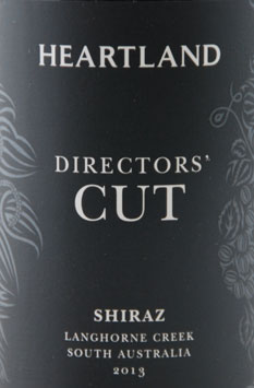 Heartland Director's Cut Shiraz 2013