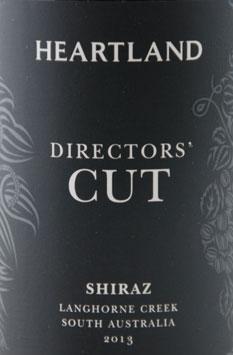 Heartland Director's Cut Shiraz 2013