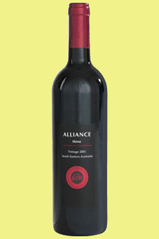 Alliance Shiraz 2014