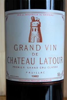 Chateau Latour Magnum 1982