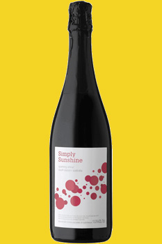 Simply Sunshine Sparkling Shiraz