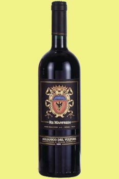 Re Manfredi Aglianico del Vulture DOC 2011
